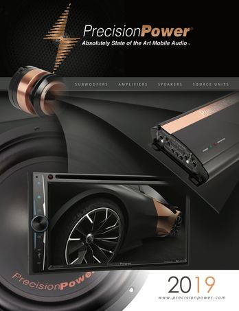 2019 Precision Power Catalog